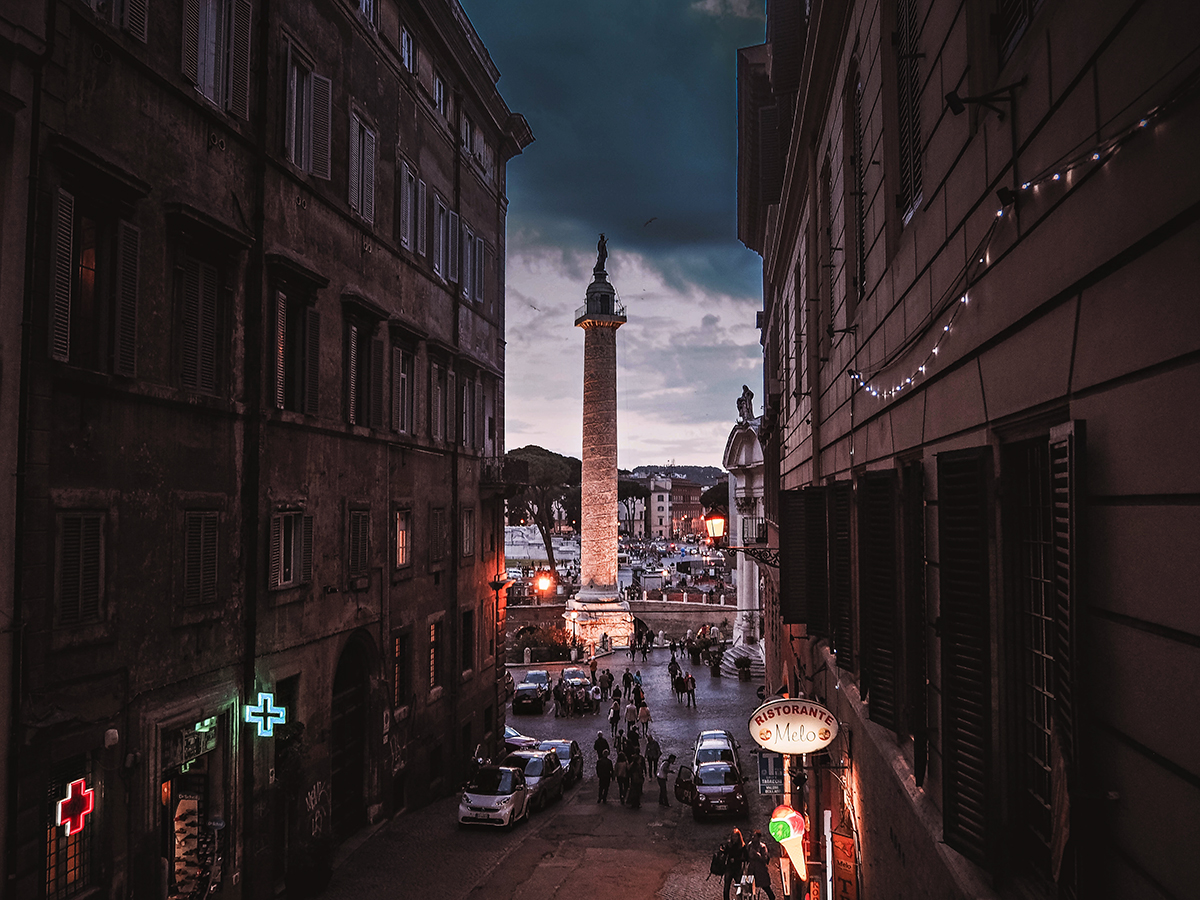 En weekend i Rom: Trajan's Column (Colonna Traiana / Trajanuskolonnen)