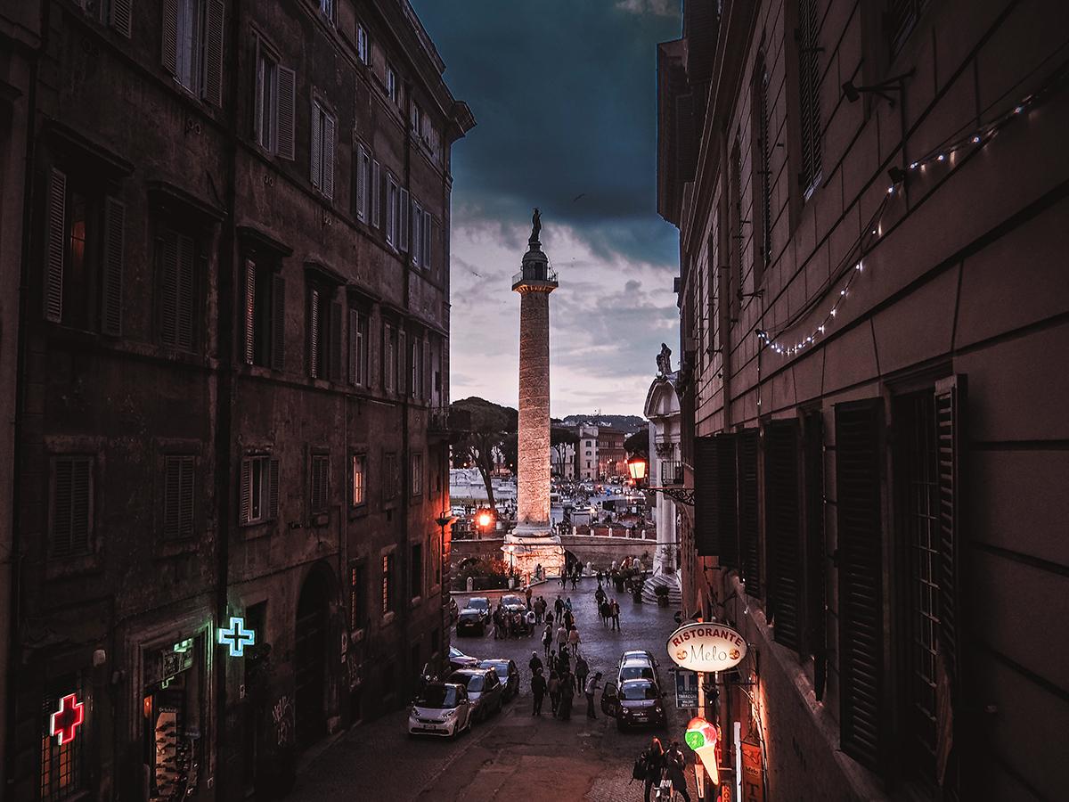 En weekend i Rom: Trajan's Column (Colonna Traiana / Trajanuskolonnen)