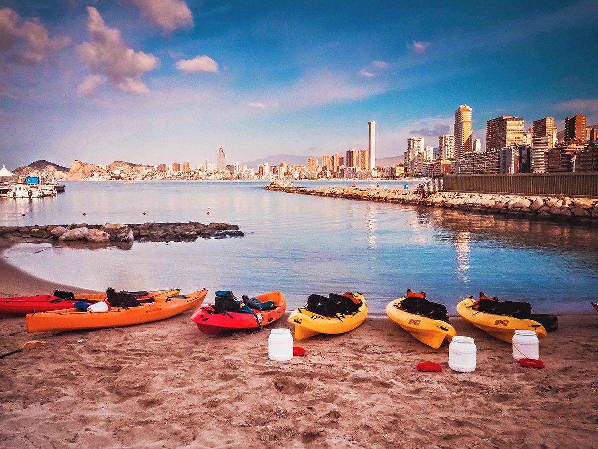 Captain Kayak - Sunrise tour