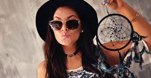 Cazal Sunglasses & Dreamcatcher