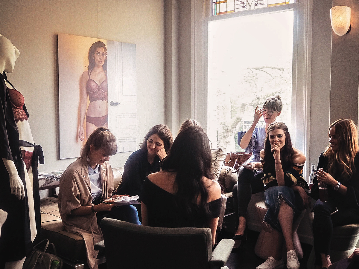 Event with Hunkemöller in Amsterdam