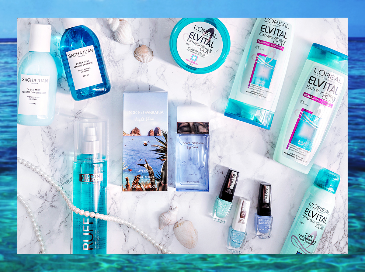 Ocean inspired beauty products