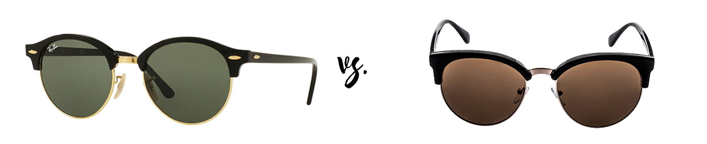 Spend vs. save: Ray-Ban Clubround