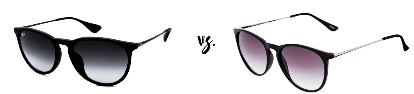 Spend vs. save: Ray-Ban RB4171 Erika