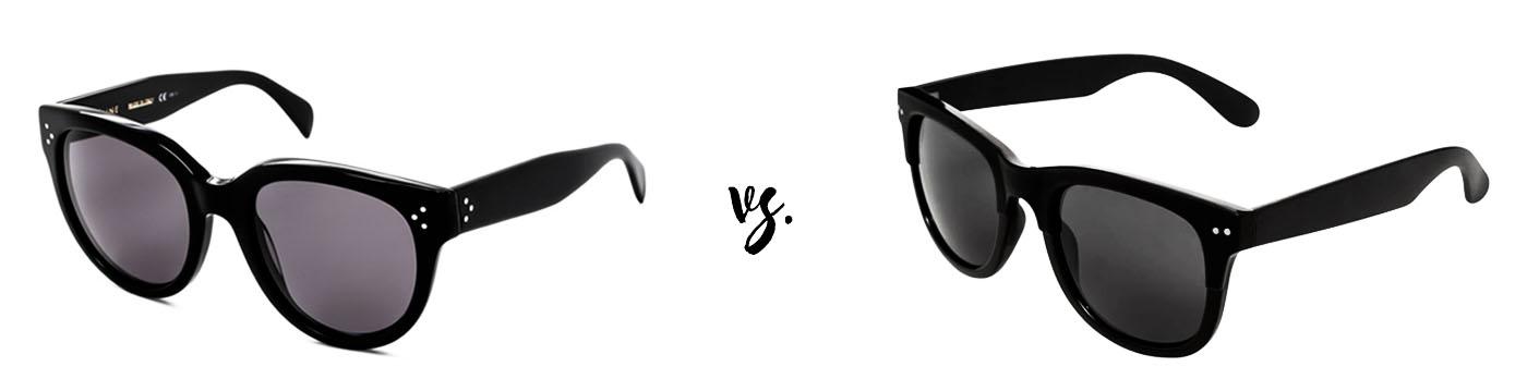 Spend vs. save: Celine CL 41755/S Audrey
