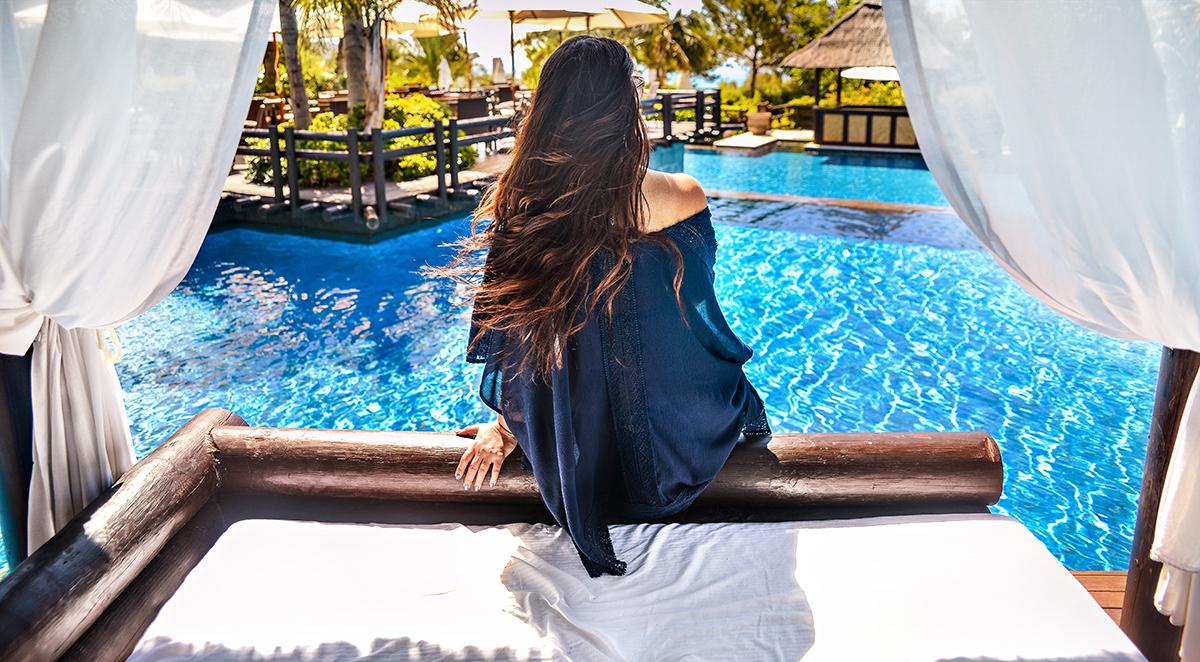 Paradise view in Benidorm + Kimono