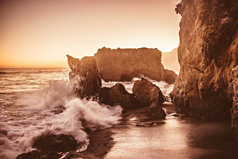 Beaches in Malibu, California