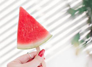 DIY: Isglass av fryst vattenmelon
