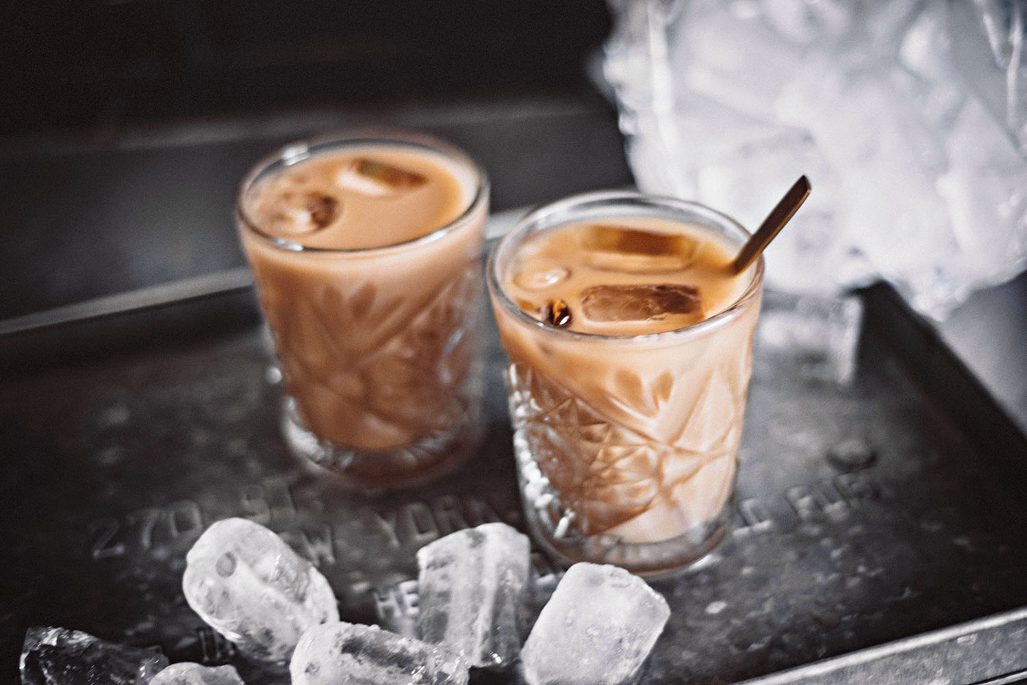 Ice coffee - Fast and easy recipe