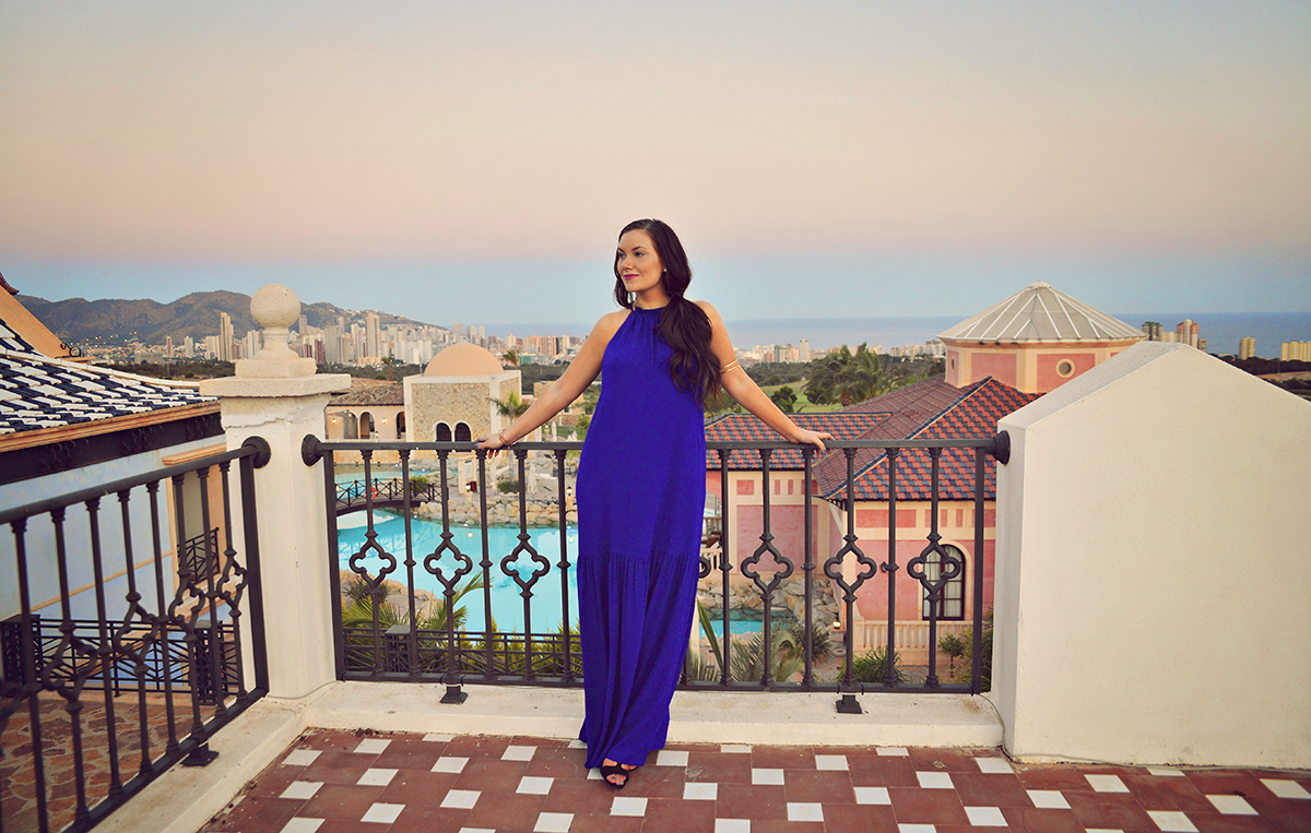 Blue Maxi Dress from H&M
