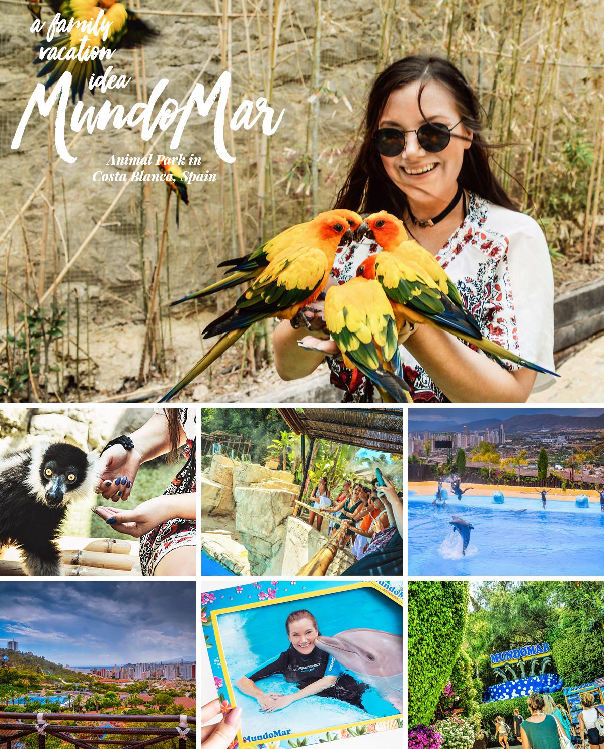 Mundomar Animal Park: Närkontakt med exotiska djur i Costa Blanca