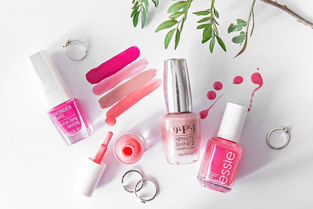Pink Nail Polishes Summer 2016