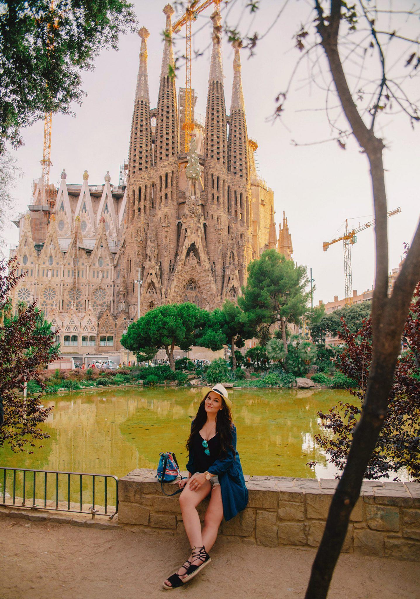 Outfit - La Sagrada Familia i Barcelona