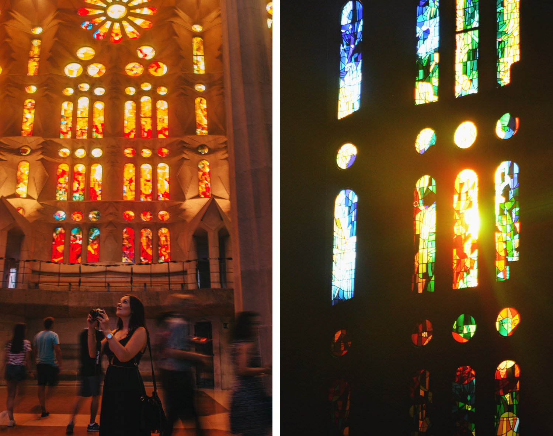 Inside Basílica