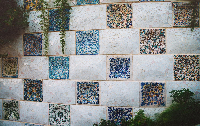 Park Güell - Work by Antoni Gaudi