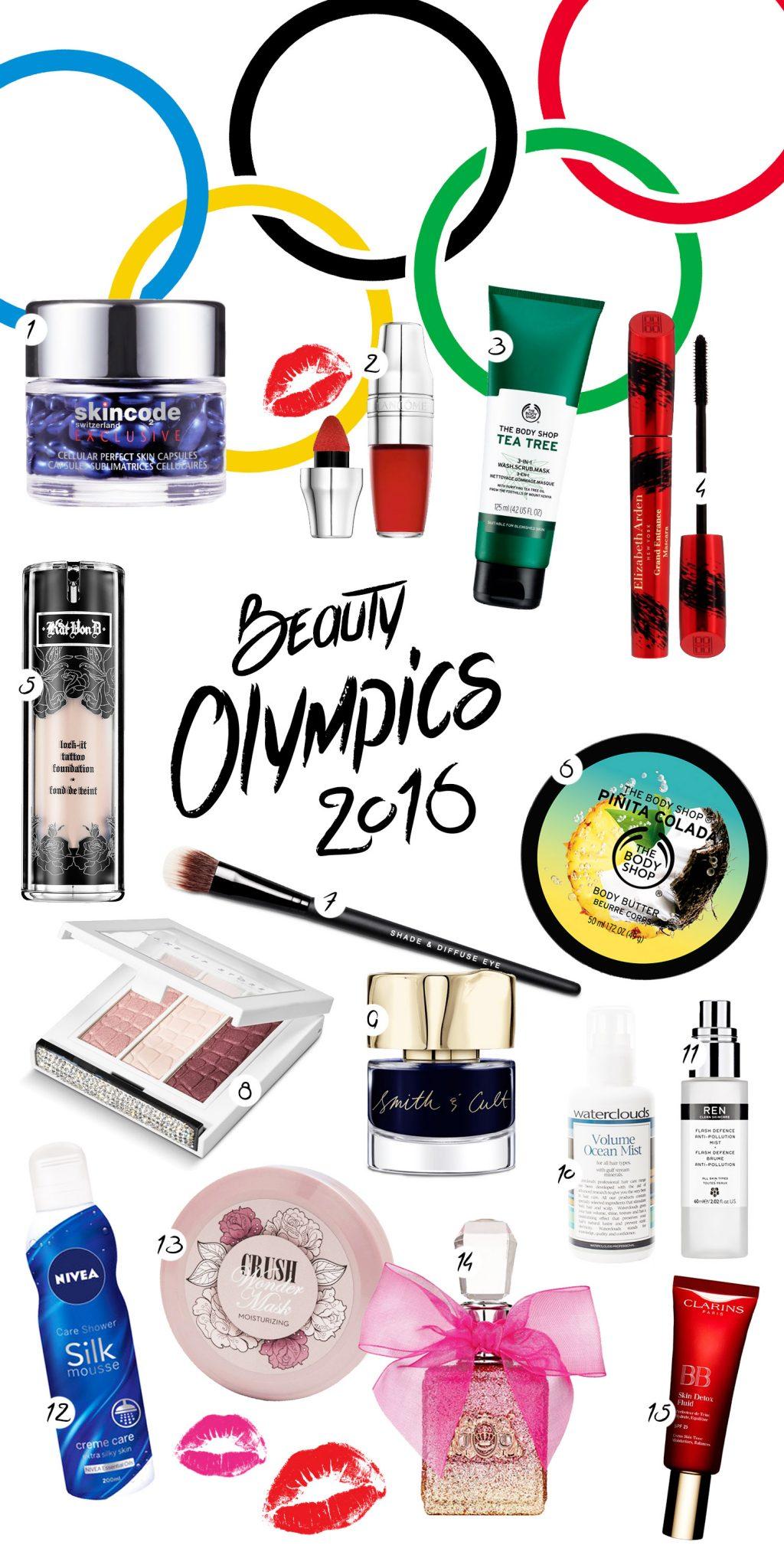 Beauty Olympics: 16 Skönhetsvinnare
