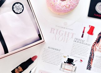 Glossybox Augusti 2016: Beauty Kick