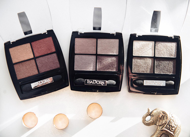 IsaDora Eye Shadow Quartet Bohemian, Soft Suede & Vintage Velvet