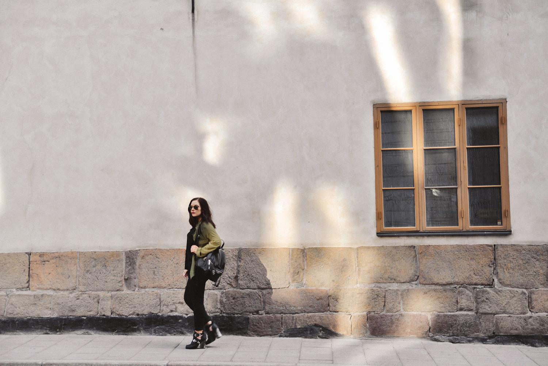 Khaki Green Outfit - Stockholm Street Style
