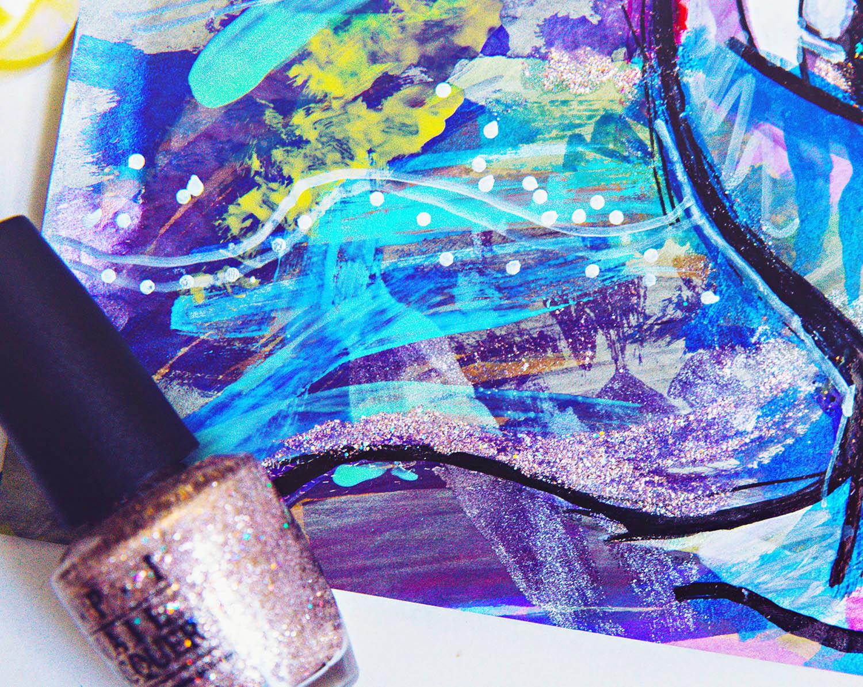 DIY: Nail Polish Painting