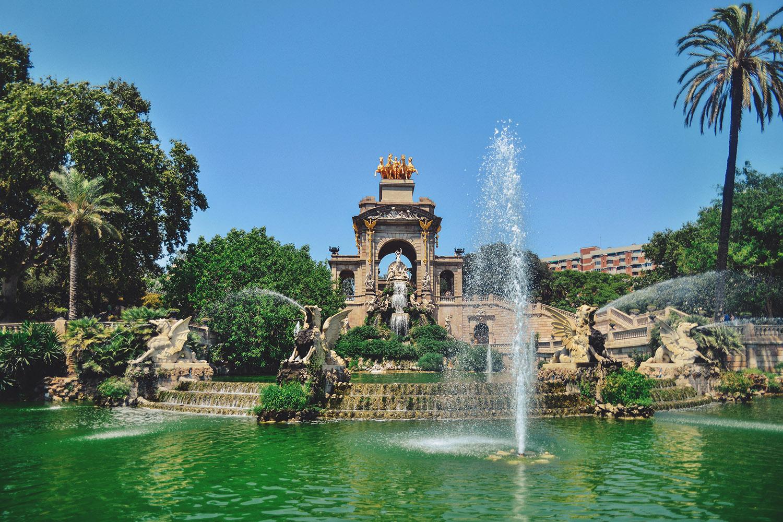 Parc de la Ciutadella - Fountain in Barcelona