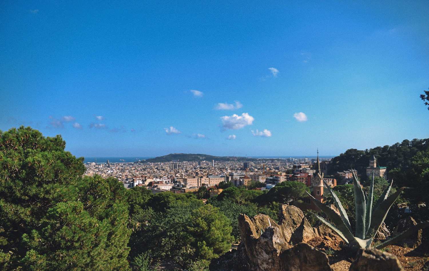View from Parc Güell
