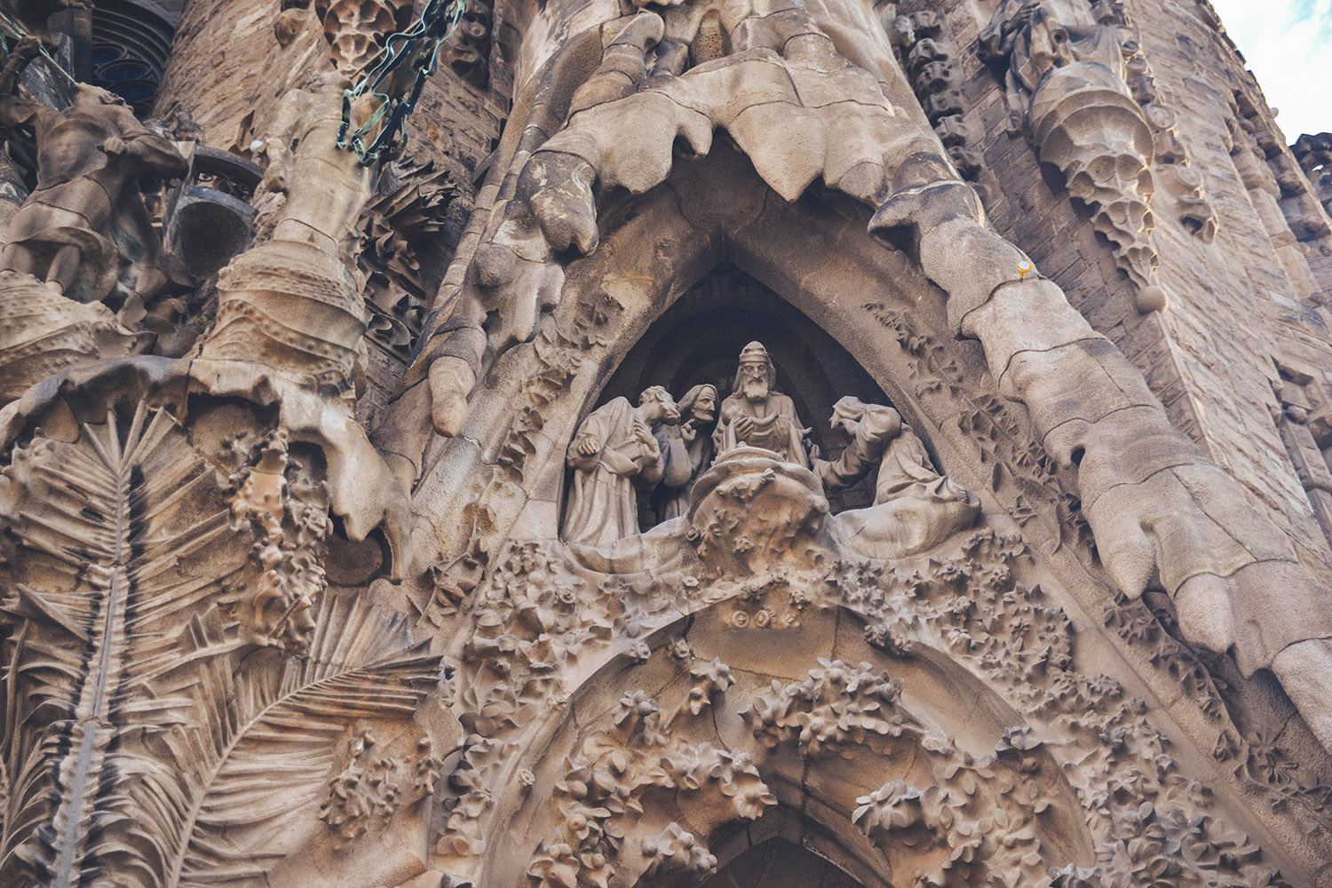 Sculptures at Sagrada Família