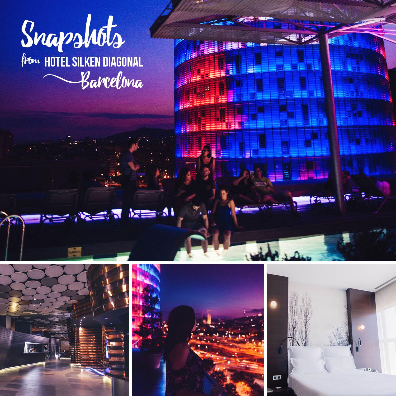 Hotel Silken Diagonal i Barcelona