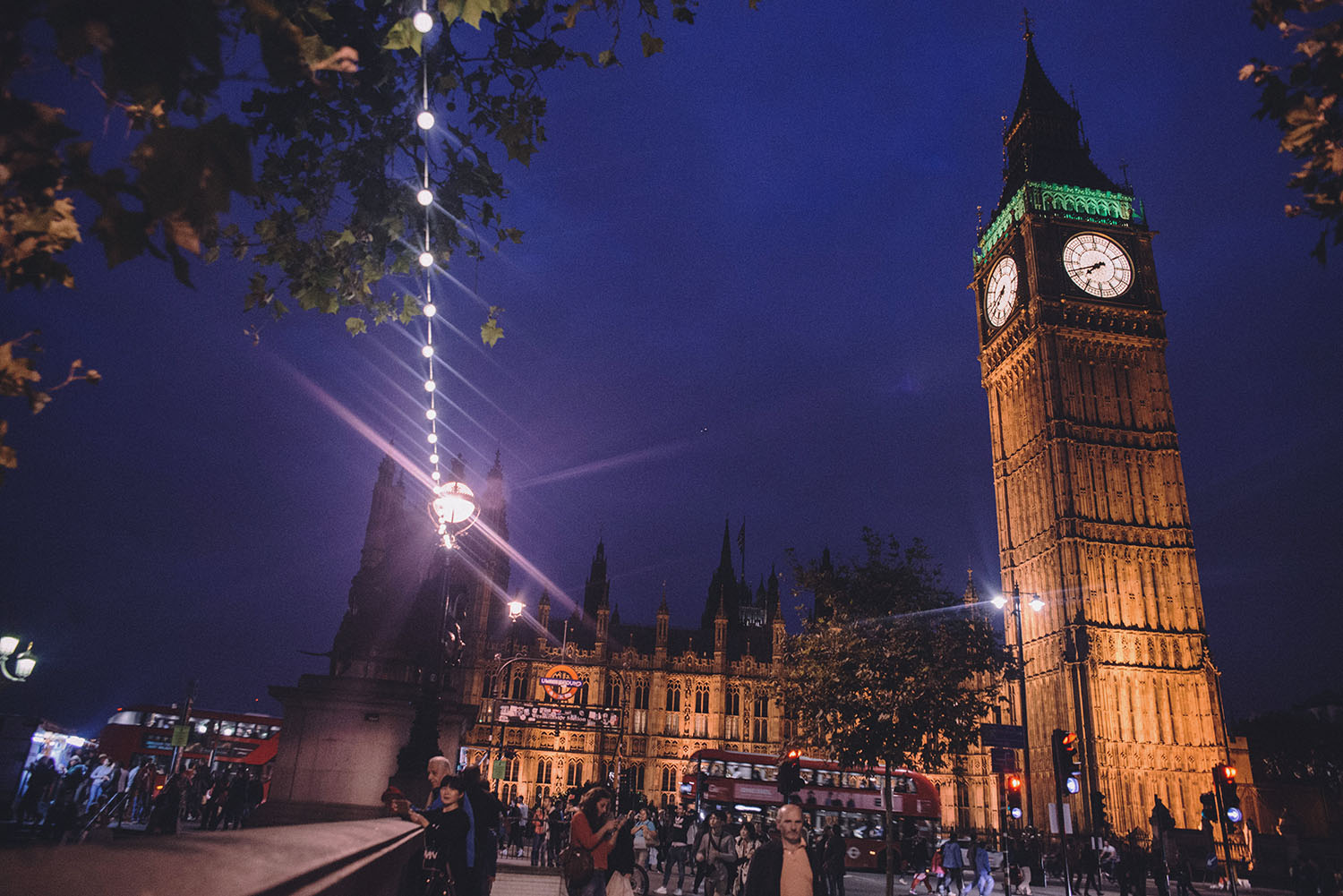 Big Ben & Westminister by Night