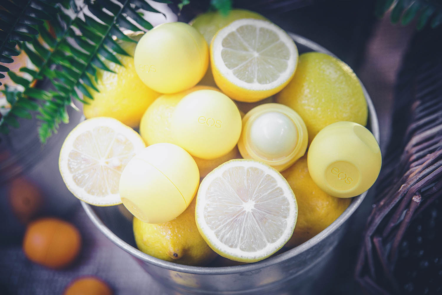 Eos Smooth Sphere Lemon Drop Lip Balm SPF 15