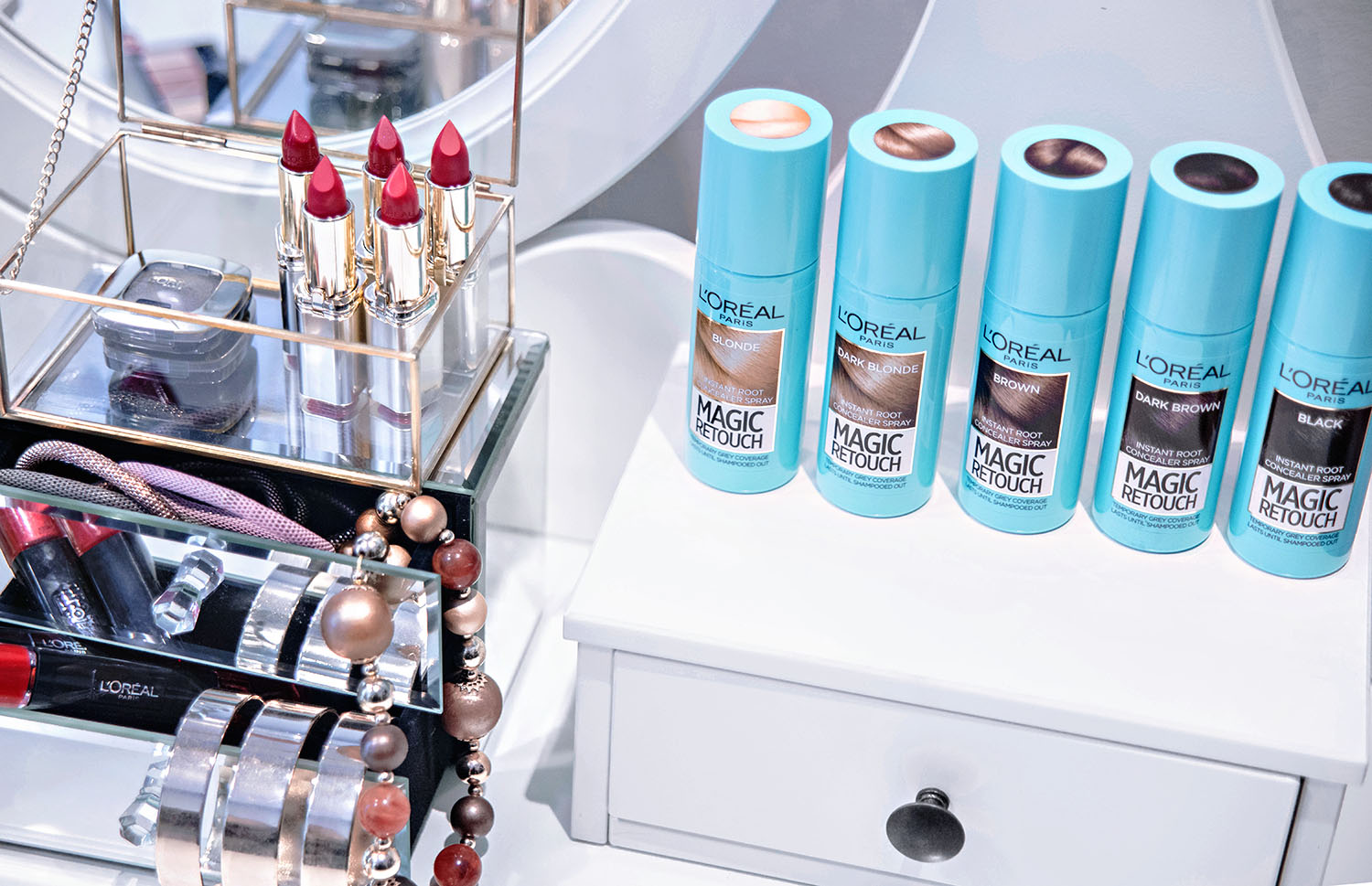 Spray som döljer utväxt: L'Oréal Magic Retouch Instant Root Concealer