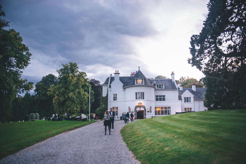 Achnagairn Castle Hotel in Scotland