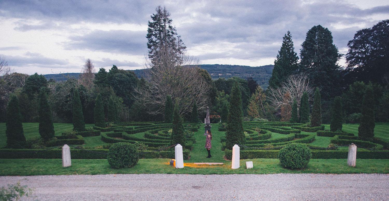 Achnagairn Castle Hotel Beautiful Garden