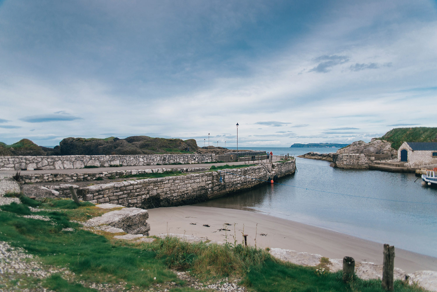 Ballintoy Harbour (Lordsport) The port of Pyke in the Iron Islands