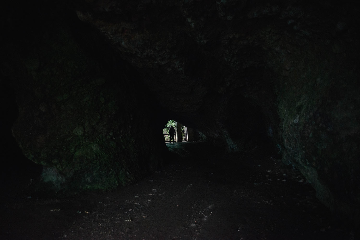 Storms End: Cushendun Caves, Co Antrim