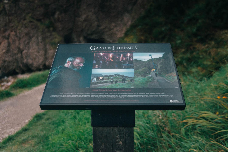 Storms End: Cushendun Caves, Co Antrim