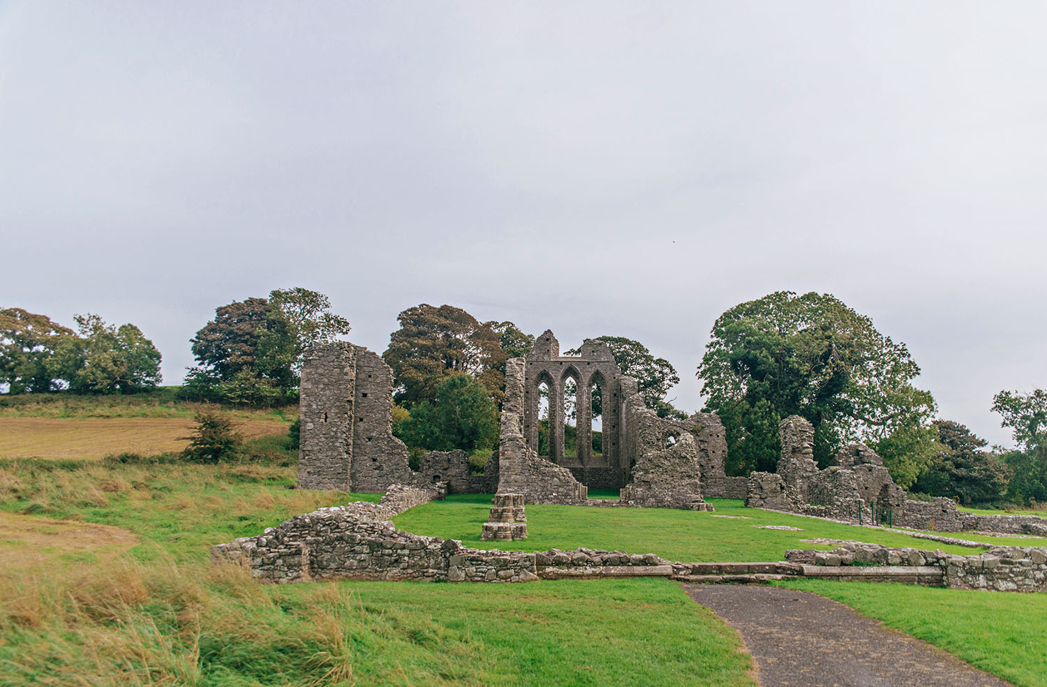 The Twins - Inch Abbey
