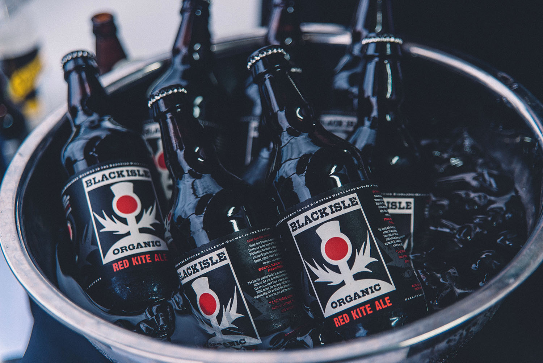 Ice cold Black Isle Ale