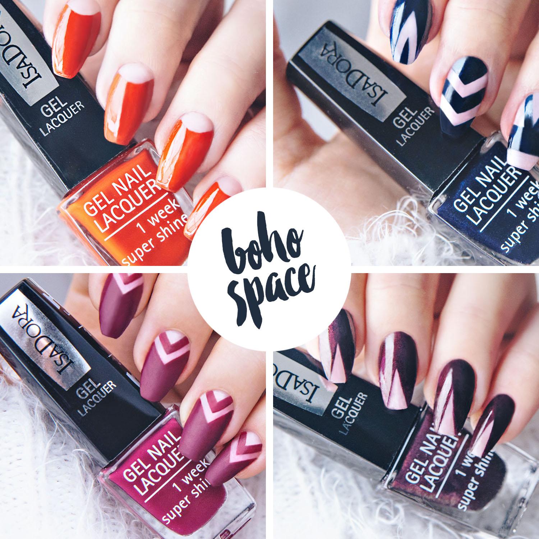 Boho Negative Space Nail Art: 4 nail design ideas