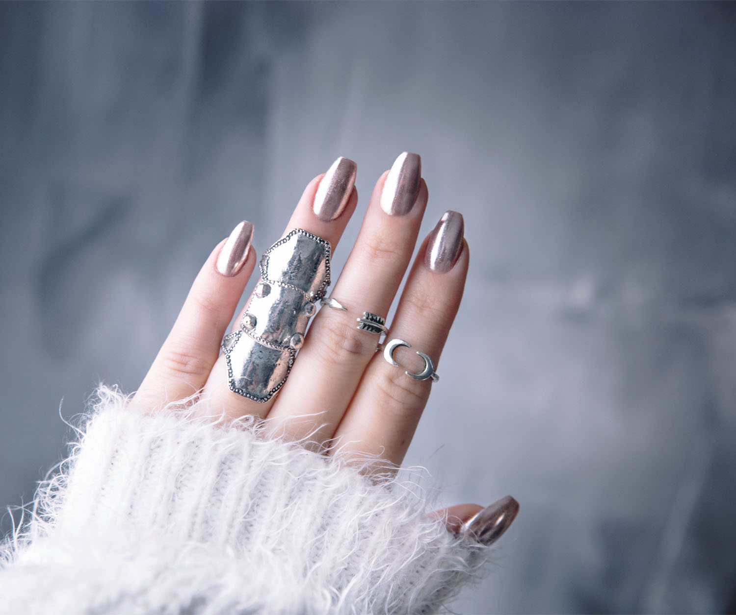DIY: Chrome Nails / Chromenaglar