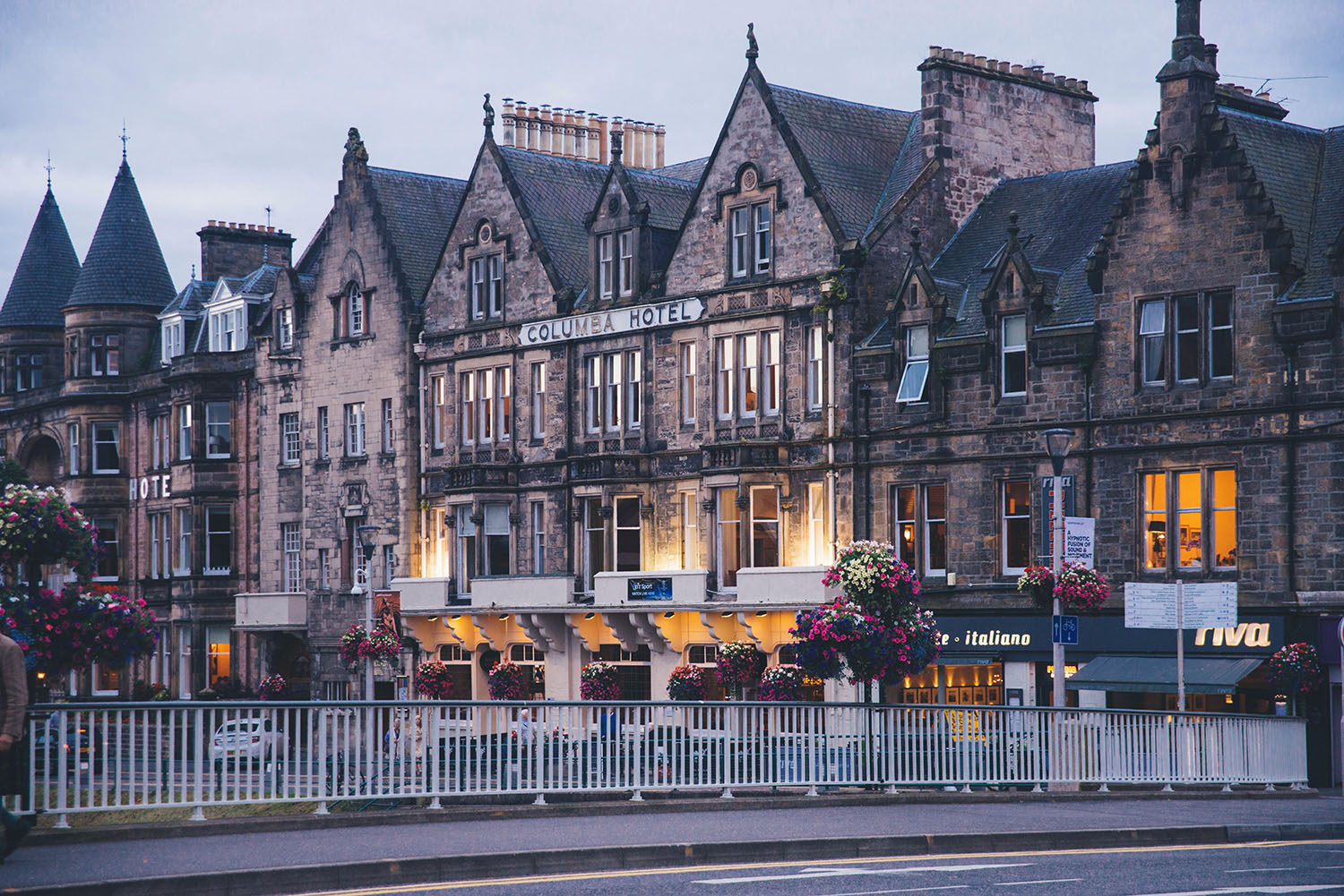 View across the road - Columba Hotel in Inverness