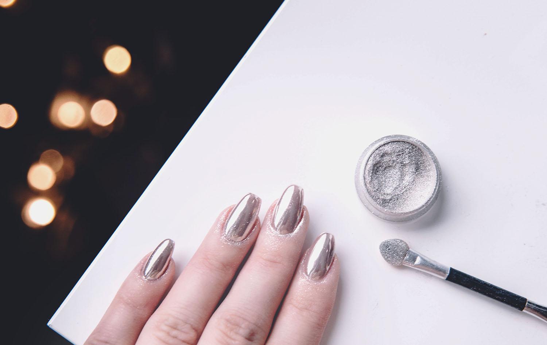 Chrome Nails Tutorial - DIY: Kromnaglar