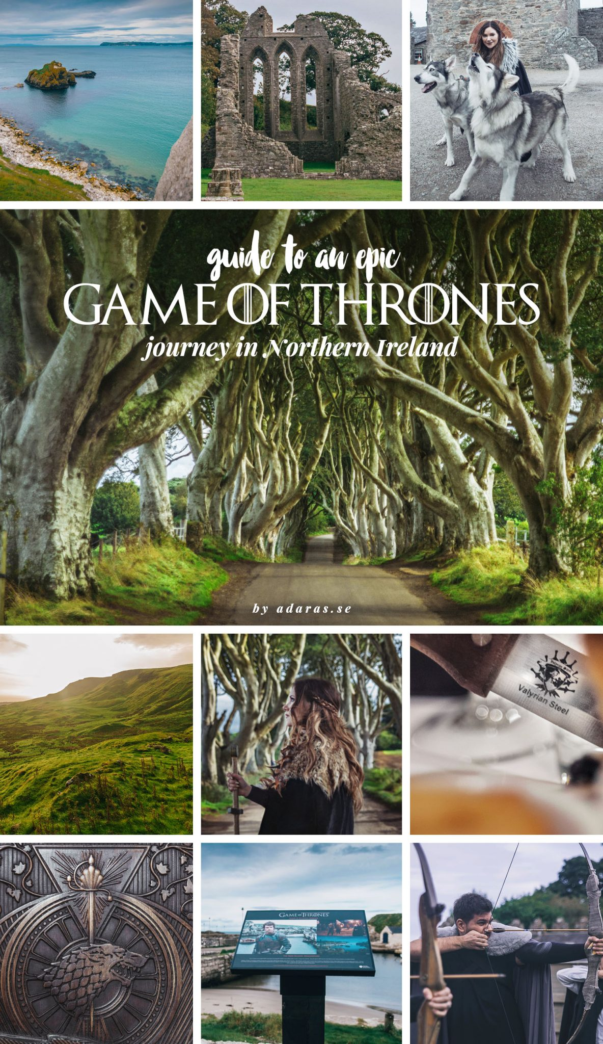 Epic Game of Thrones Journey in Northern Ireland