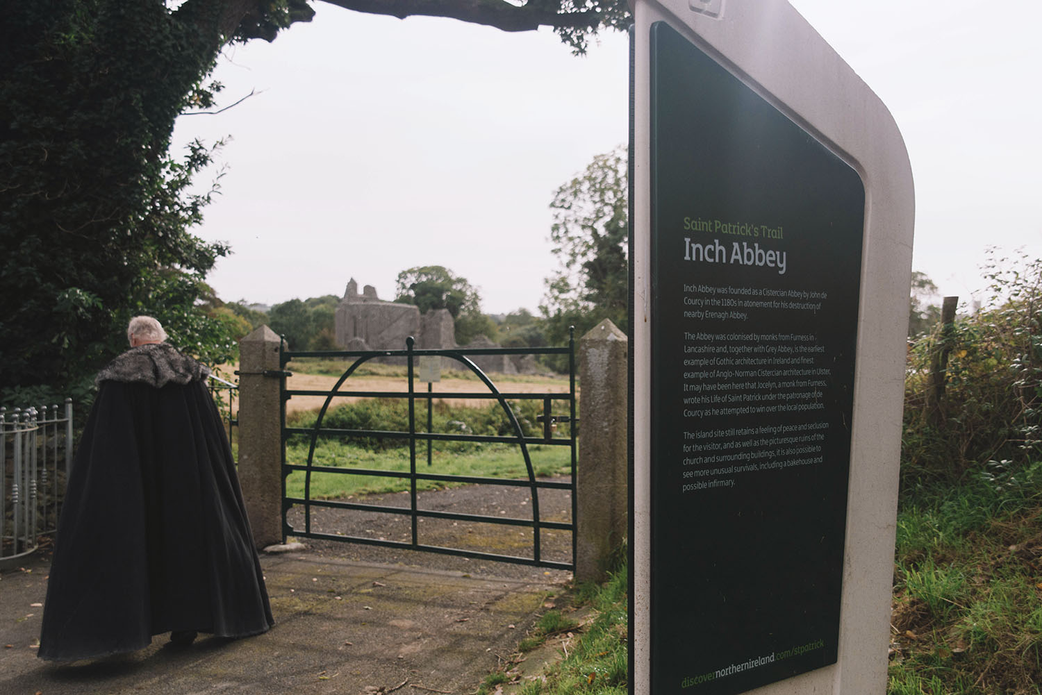 Inch Abbey - Game of Thrones Tour