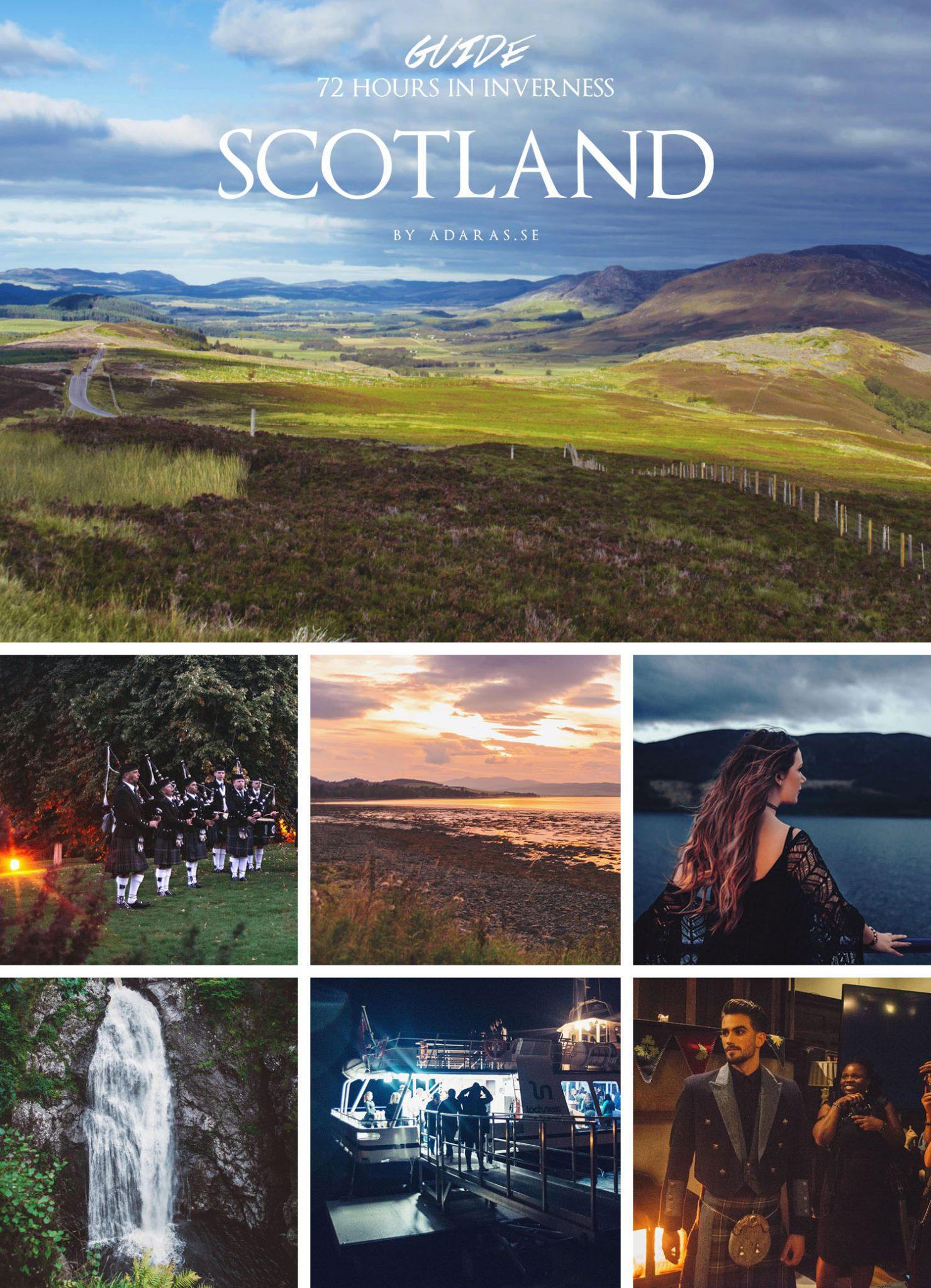 Scotland Travel Guide: 72 hours around Inverness