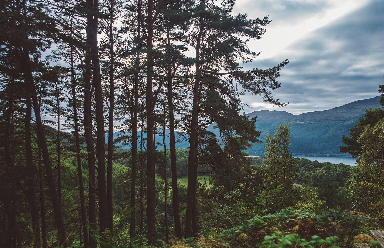 Beatuiful scenery in Scotland