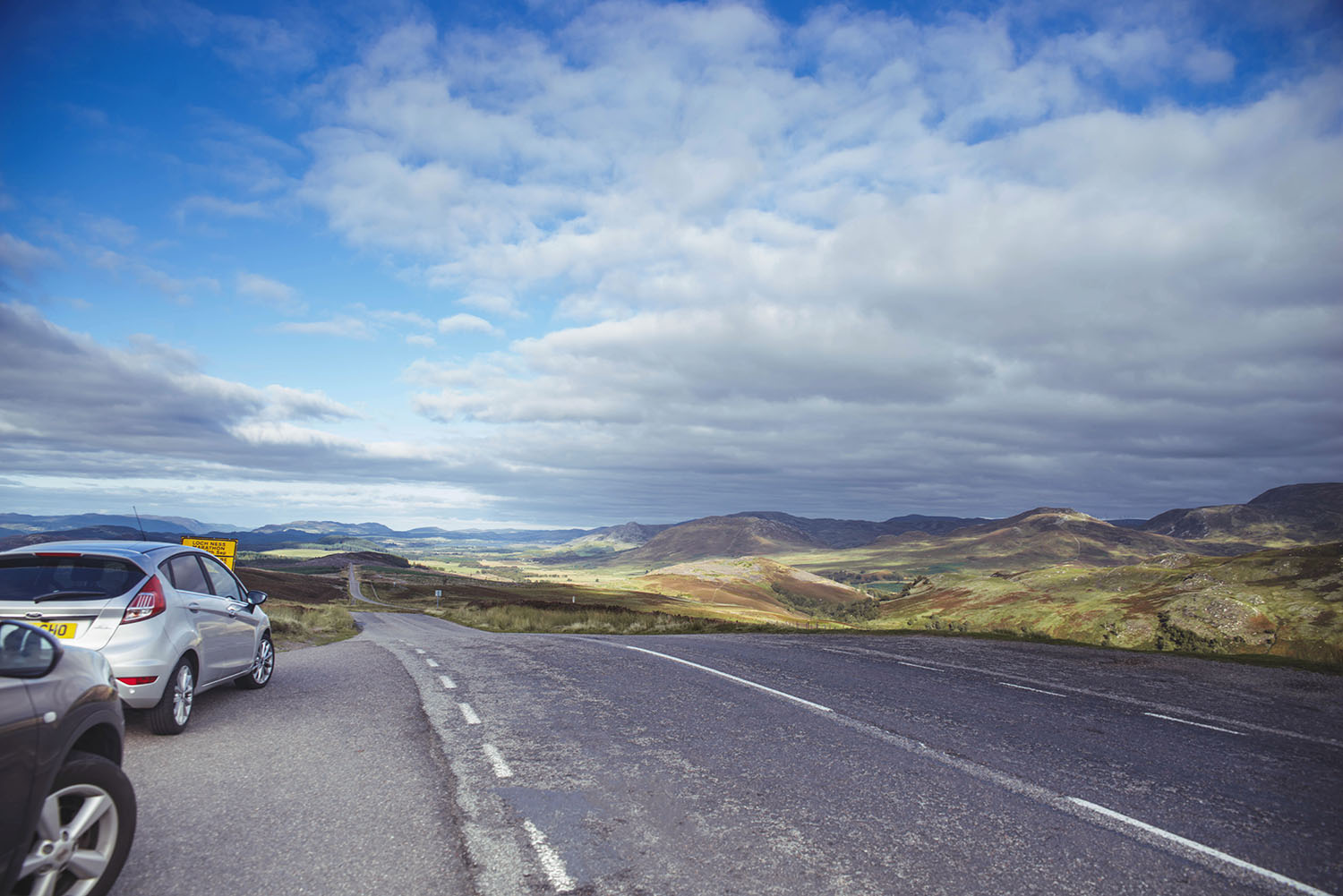 Road trip in Scotland - A stop at Suidhe Viewpoint