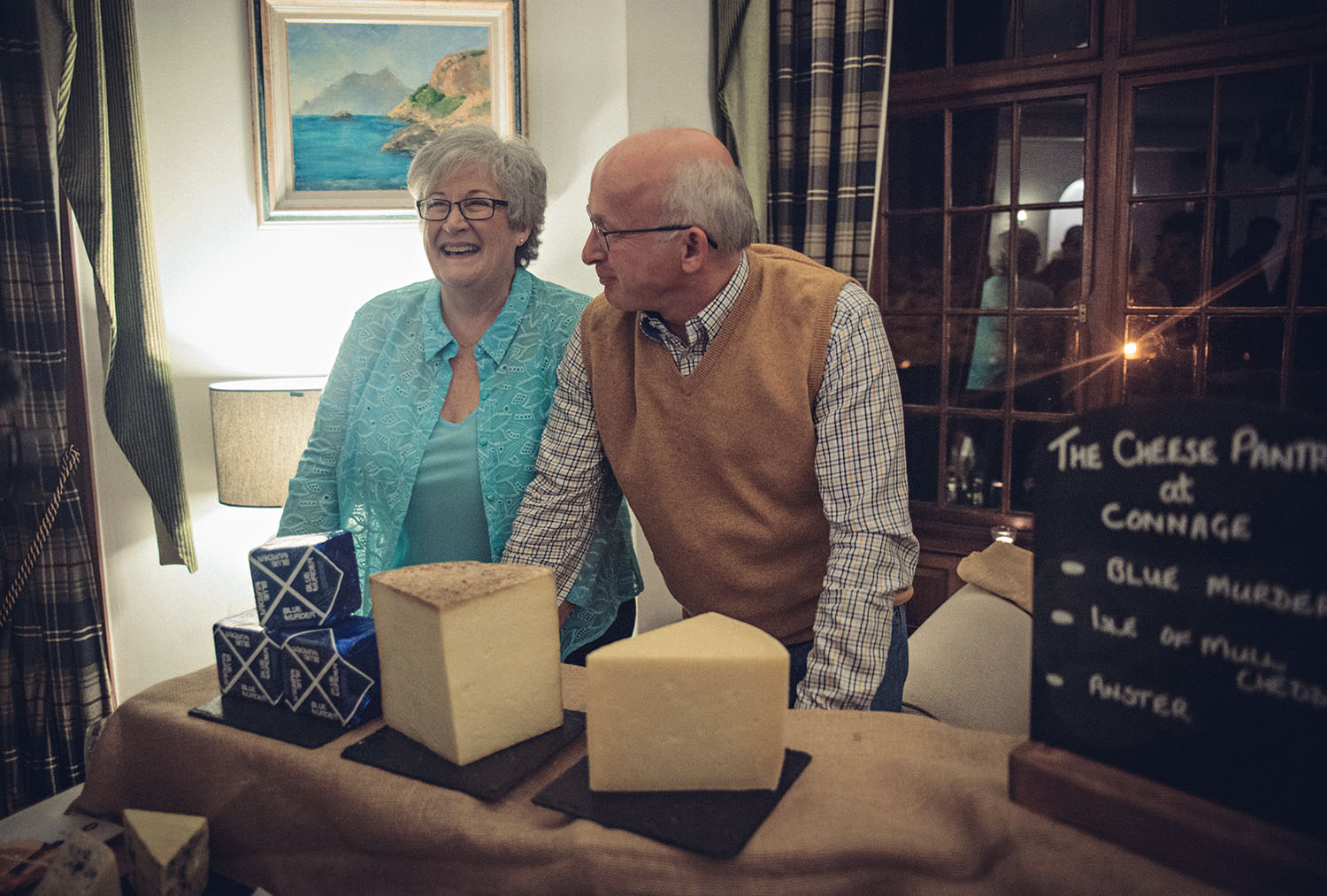 Cheesemakers from The Cheese Pantry at Connage Highland Dairy