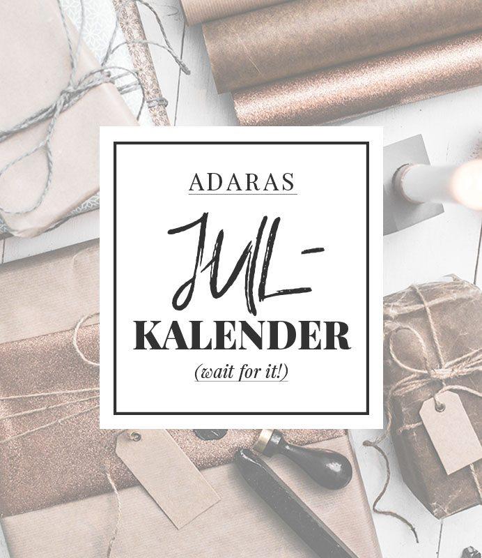 Adaras Julkalender 2016