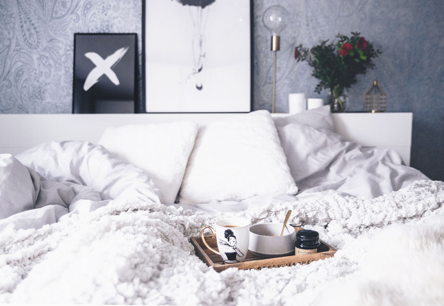 Tips när du är Morgontrött/ Breakfast in Bed Inspiration